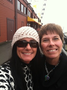 Me and Kathy in Seattle in 2012.