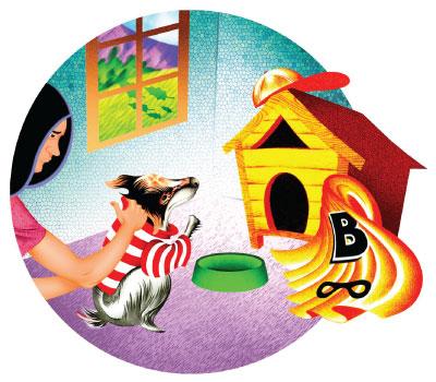 Faith's dog house